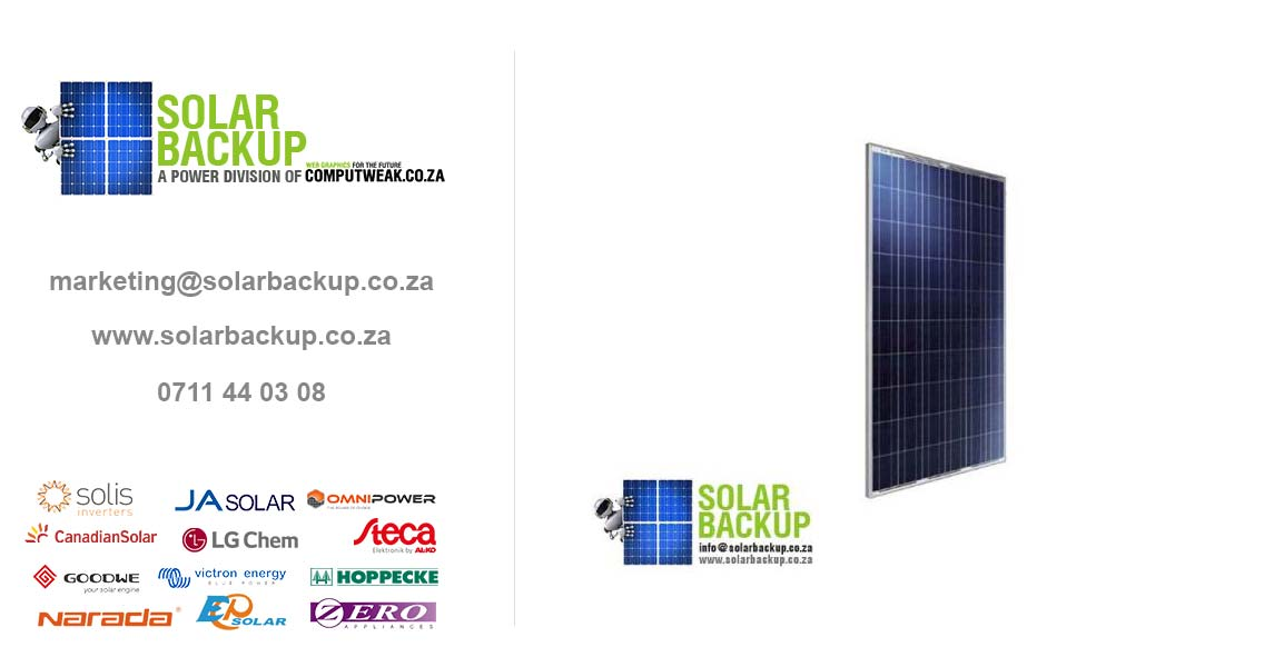 Canadian Solar 330w Poly U 72 X 6 Solar Backup