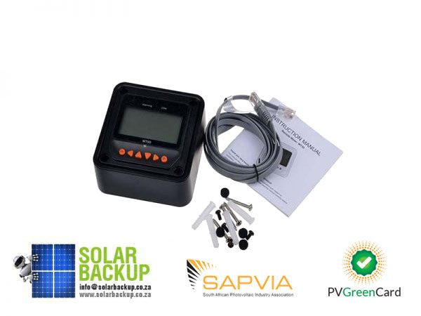 Solar Backup-EPSOLAR-MT50-remote-meter-LCD-Display-epever-LandStar-Viewstar-Tracer-solar-controller-Black-color