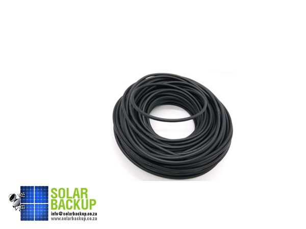 Solar Backup-4mm2 single-core DC cable 50m – Black