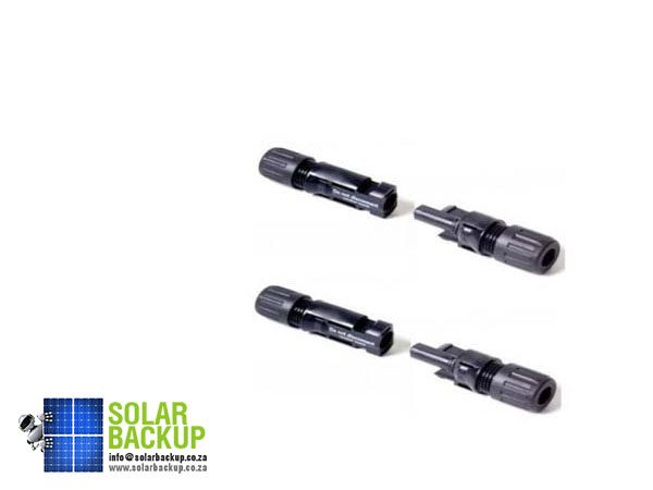 Solar Backup-female PV plungs
