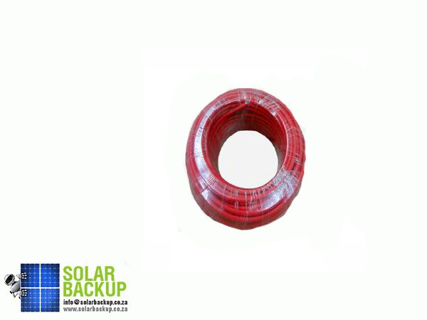 Solar Backup- 4mm2-single-core-25m—Red