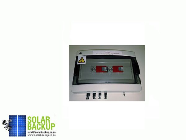 Solar Backup-1000V Protection Box 2 Inputs 2 Outputs 16A Isolator Type I_II SPD