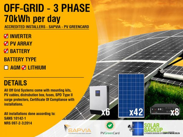 70kWH–3Phase-Off-Grid-System