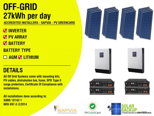Off-Grid-27kWh-Per-Day–Axpert-System