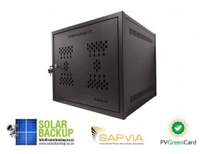 Pylon US3000B/BAK2.56 x3 Cabinet With Support Rails