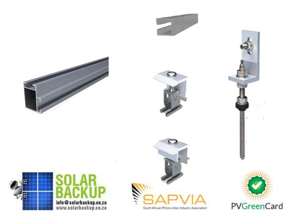 Solar Backup-Mounting Kit IBR (14 Panels)