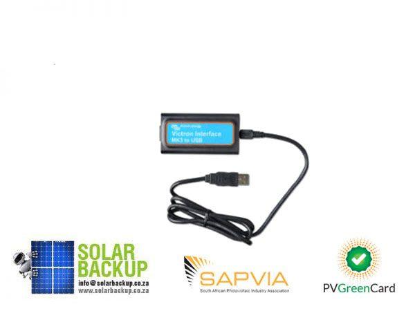 Solar Backup-Interface MK3-USB (VE.Bus to USB)