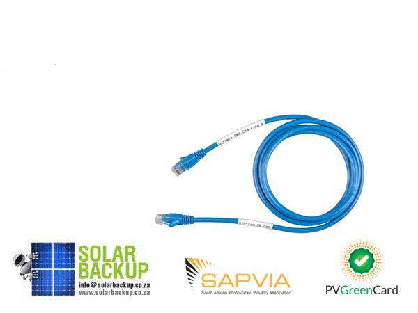 Solar Backup-RJ45 S-FTP-5m Lithium comm cable for Victron installs