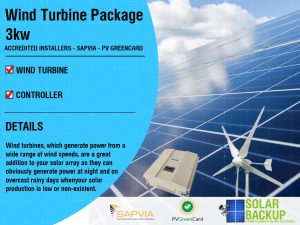 Wind Turbine package 3kw 48v 5 blade with a controller