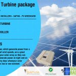 Wind Turbine package 700w-48v-3 blade with a controller