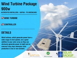 Wind Turbine package 900W 48V 3 Blade with a controller
