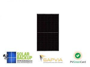 JA Solar 325W Mono MBB Percium Half Cell All Black MC4