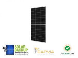 JA Solar 345W Mono MBB Percium Half Cell Silver Frame MC4
