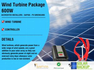 Wind Turbine package 600w 48v 3 blade with a controller