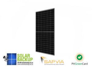 JA Solar 495W Mono PERC Half Cell MBB Silver Frame