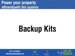 Backup kits
