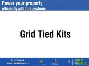 Grid Tied Kits