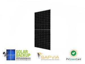 JA Solar 490W Mono PERC Half Cell MBB Silver Frame