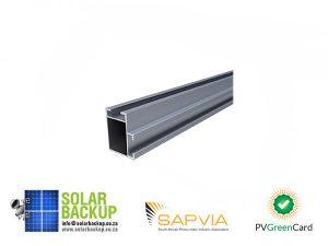 VarioSole+ Mounting rail 41 x 35 x 2250 mm