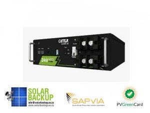 GITER 2.56kWh 25.6V/100Ah LFP battery module
