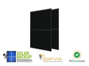 JA Solar 320W Mono MBB Percium Half Cell All Black MC4