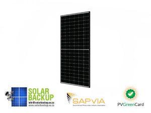 JA Solar 380W Mono MBB Percium Half Cell Black Short Frame MC4