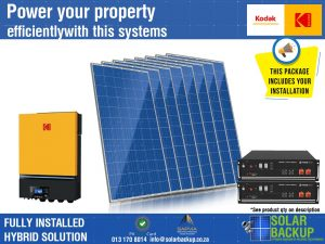 7.2 kW Hybrid – 22 units per day with 7 Kwh Storage