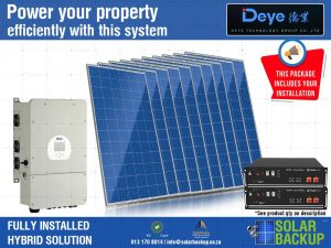 8 kW Hybrid – 20 units per day with 7 Kwh Storage